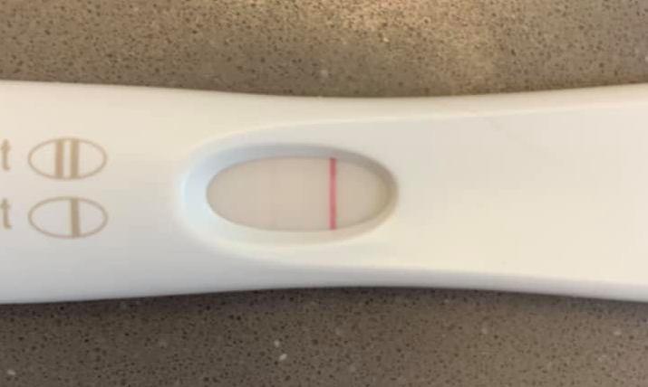 no color on a pregnancy test